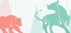 Bull & Bear as puppets on strings