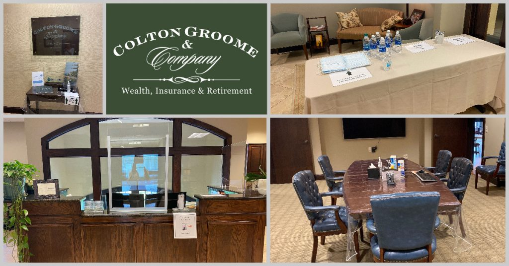 Colton Groome Office Updates due to COVID-19